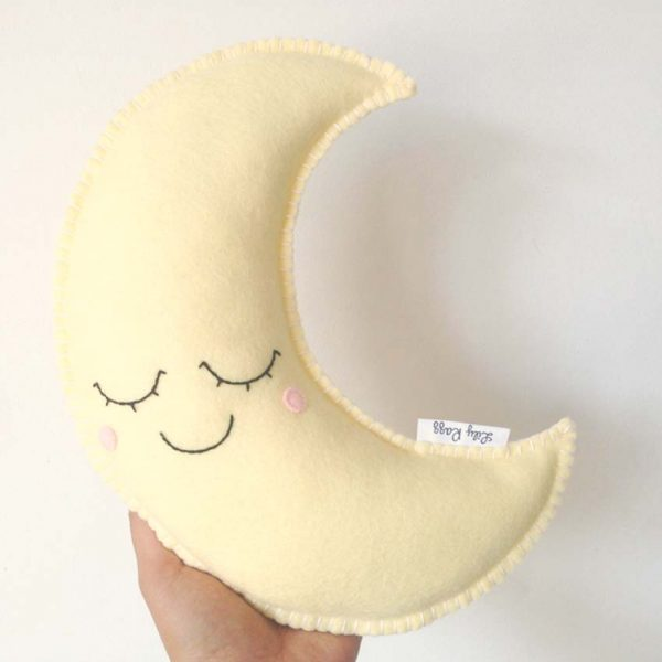 Moon pillow sewing pattern